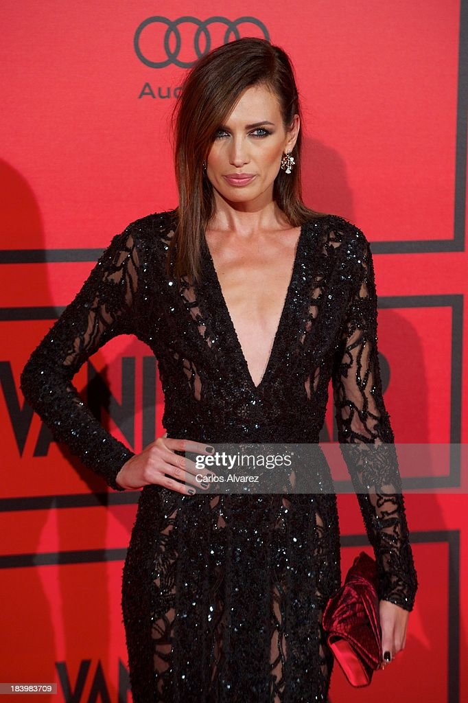 Spanish model <a gi-track='captionPersonalityLinkClicked' href=/galleries/search?phrase=Nieves+Alvarez&family=editorial&specificpeople=234377 ng-click='$event.stopPropagation()'>Nieves Alvarez</a> attends the Vanity Fair 5th anniversary paty at the Santa Coloma Palace on October 10, 2013 in Madrid, Spain.