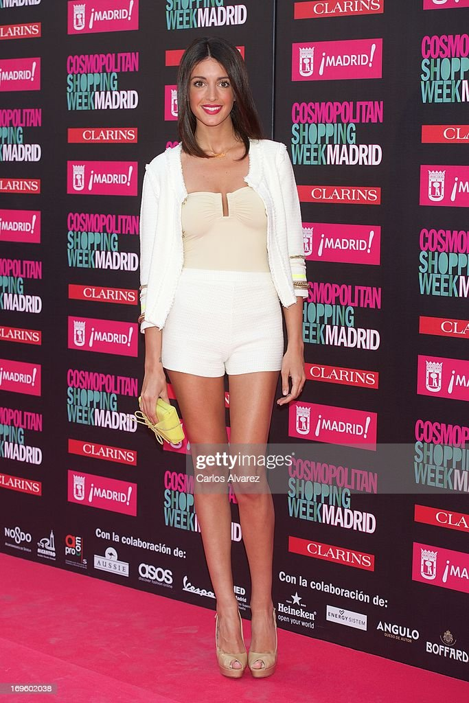 Spanish model Noelia Lopez attends the 'Cosmopolitan Shopping Week' party at the Plaza de Callao on May 28, 2013 in Madrid, Spain.