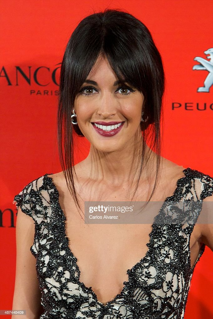 Spanish model Noelia Lopez attends the 'Mujer de Hoy' awards 2013 at the Hotel Palace on December 17 2013 in Madrid Spain
