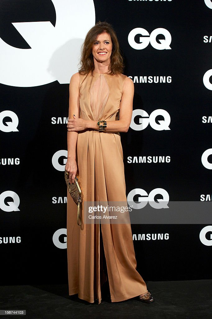 Spanish model Nuria March attends the GQ Men Of The Year award 2012 at the Ritz Hotel on November 19, 2012 in Madrid, Spain.