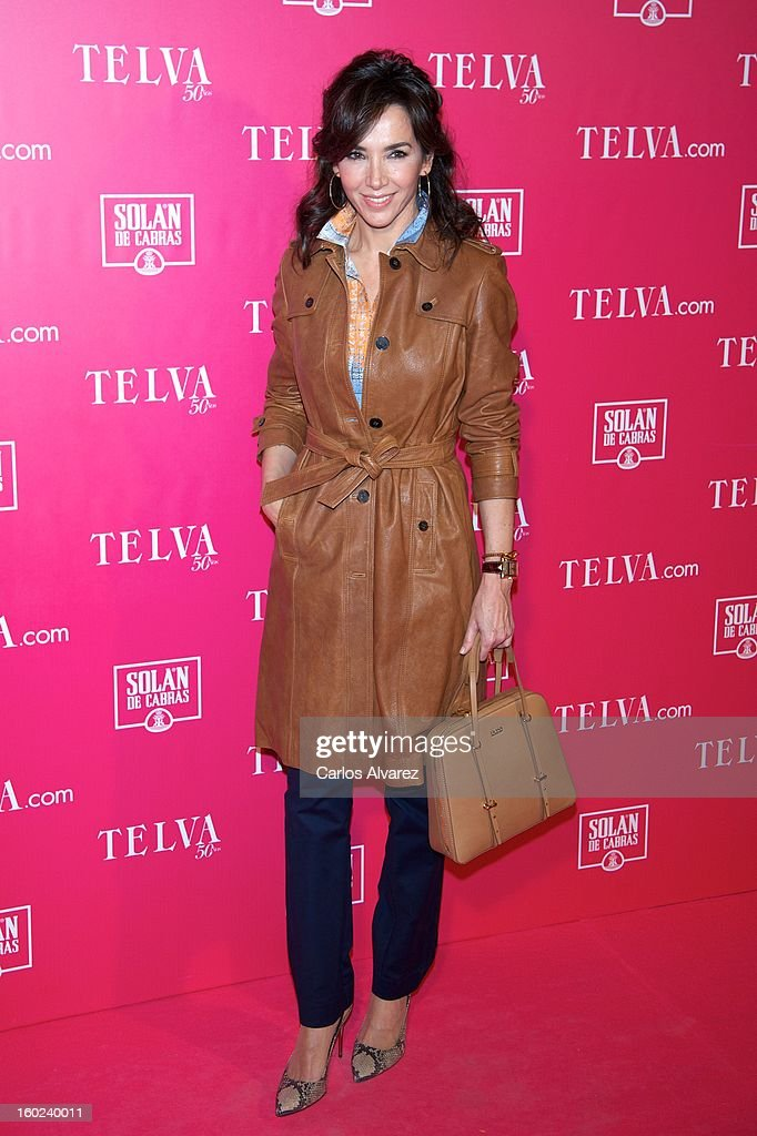 Spanish model Paloma Lago attends 'Beauty T' awards at the Palace Hotel on January 28, 2013 in Madrid, Spain.