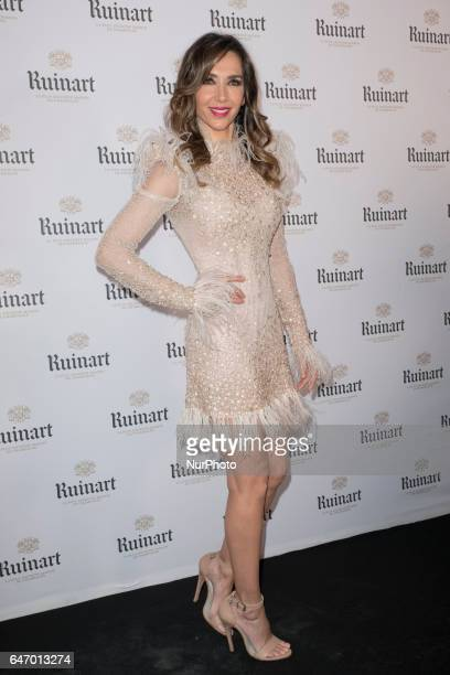 Spanish model Paloma Lago attends the ARCO 2017 closing party at the Marlborough Art Gallery on March 1 2017 in Madrid Spain