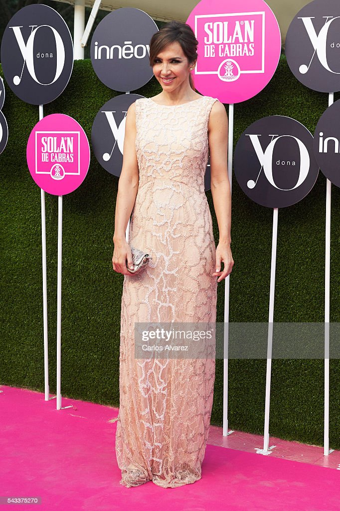 Spanish model Paloma Lago attends 'Yo Dona' International awards on June 27, 2016 in Madrid, Spain.