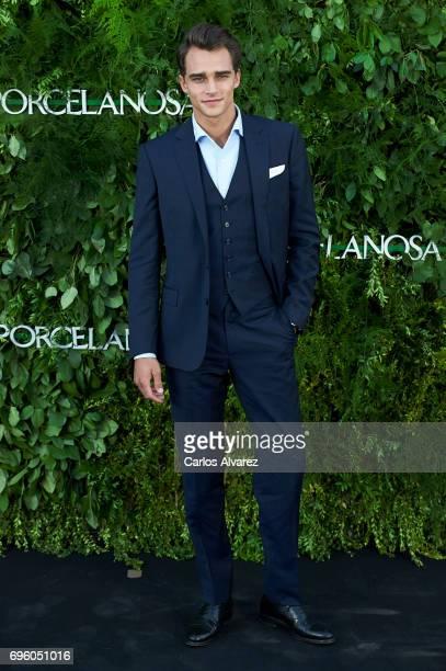 Spanish model Pepe Barroso Jr attends the opening of the new Porcelanosa store on June 14 2017 in San Sebastian de los Reyes Spain