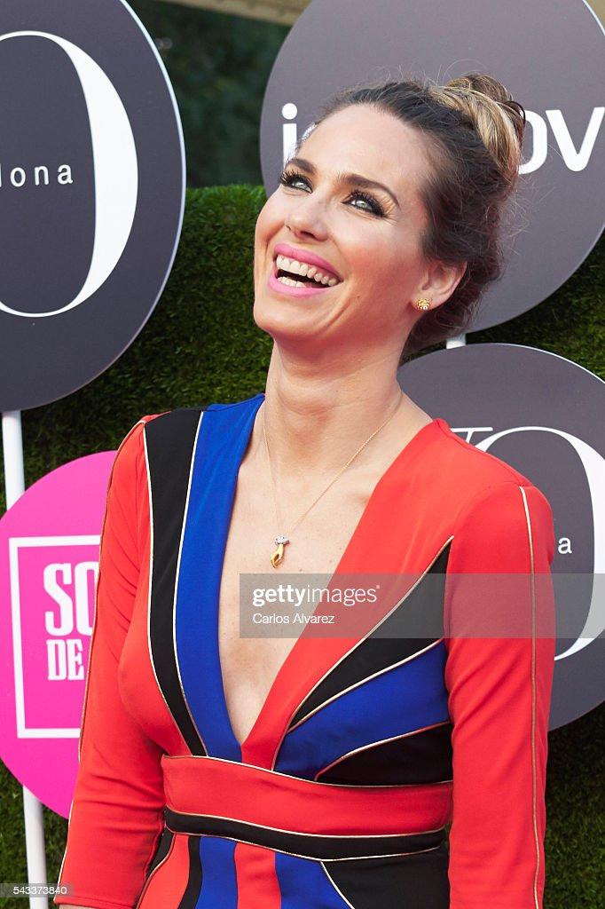 Spanish model Vanesa Romero attends 'Yo Dona' International awards on June 27, 2016 in Madrid, Spain.