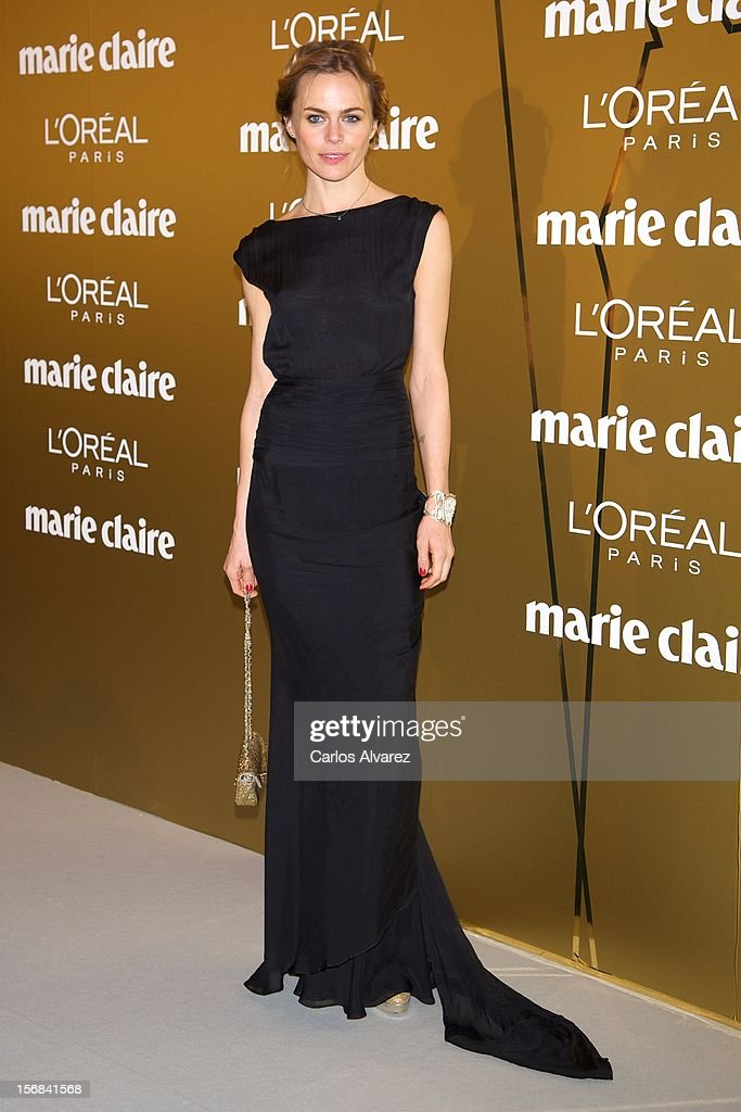 Spanish model Veronica Blume attends Marie Claire Prix de la Moda Awards 2012 at the French Embassy on November 22, 2012 in Madrid, Spain.