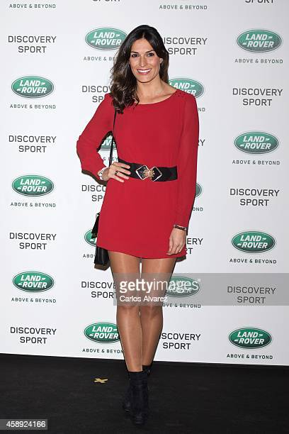 Spanish model Veronica Hidalgo attends the Land Rover Discovery Sport party at the Cibeles Palace on November 13 2014 in Madrid Spain