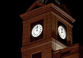 On new year´s eve, this clock tower is traditionally shown on Spanish television to count down to the new year. It is located on Puerta del Sol in Madrid.