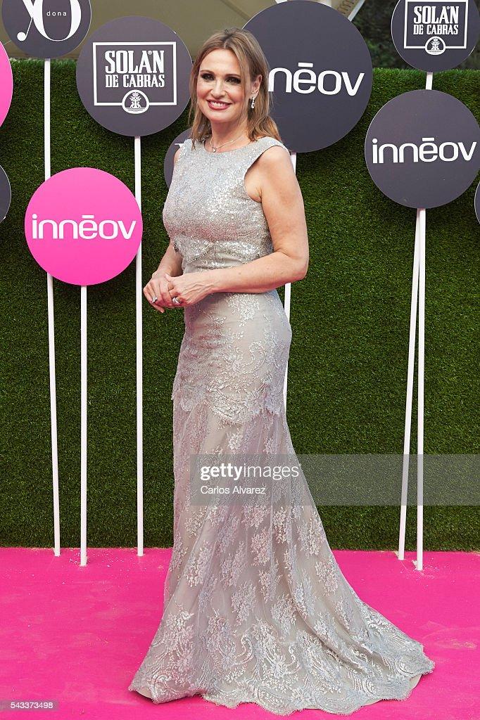 Spanish Opera singer <a gi-track='captionPersonalityLinkClicked' href=/galleries/search?phrase=Ainhoa+Arteta&family=editorial&specificpeople=1070655 ng-click='$event.stopPropagation()'>Ainhoa Arteta</a> attends 'Yo Dona' International awards on June 27, 2016 in Madrid, Spain.