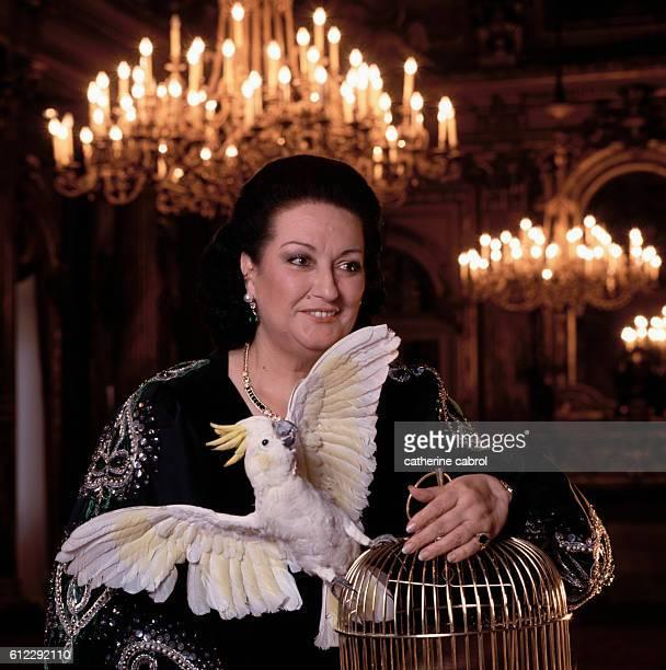 Spanish Opera Soprano Montserrat Caballé
