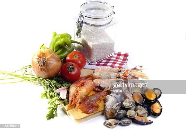 Spagnolo paella: Ingredienti