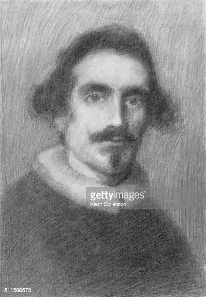 Spanish painter Diego Velázquez circa 1640