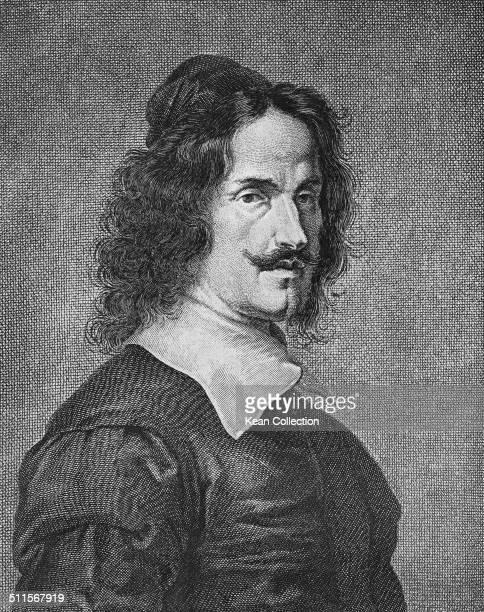 Spanish painter Diego Velázquez circa 1645