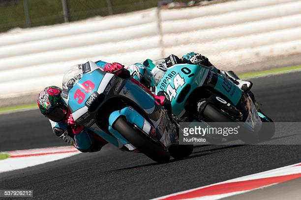 Spanish pilot dies Luis Salom after an accident during free practice Grand Prix of Catalunya in Barcelona Spain on June 3 2016
