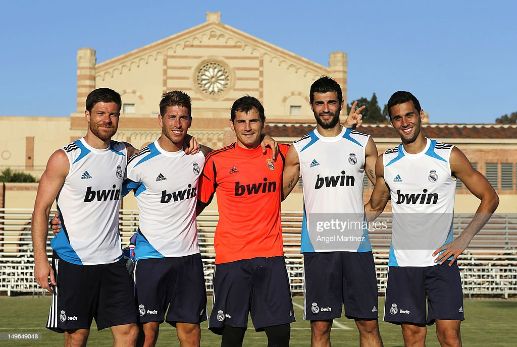 Real Madrid Training Session at UCLA Campus