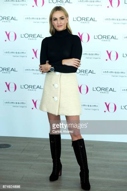 Spanish Racing driver Carmen Jorda attends 'Poder Femenino' by Yo Dona at the Espacio Tower on November 16 2017 in Madrid Spain