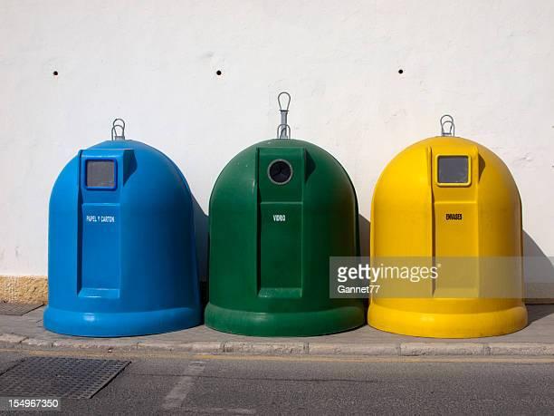 Spanish Recycling Bins