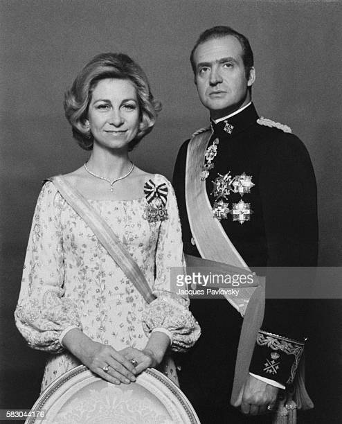 Queen Sofia and King Juan Carlos | Location Madrid Spain