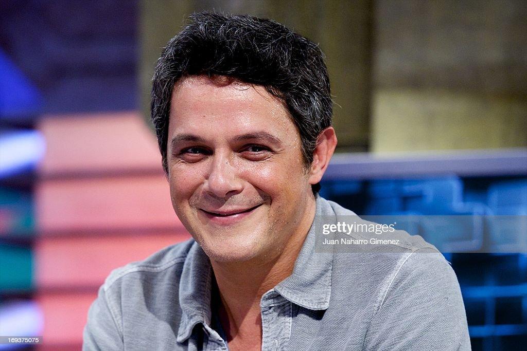 Alejandro Sanz Appears On 'El Hormiguero' TV Show