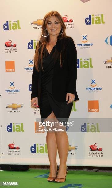 Spanish singer Amaia Montero attends the ''Cadena Dial'' 2010 awards at the Tenerife Auditorium on February 11 2010 in Tenerife Spain
