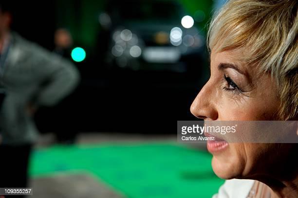 Spanish singer Ana Torroja attends 'Cadena Dial' awards 2011 at Tenerife Auditorium on February 22 2011 in Tenerife Spain
