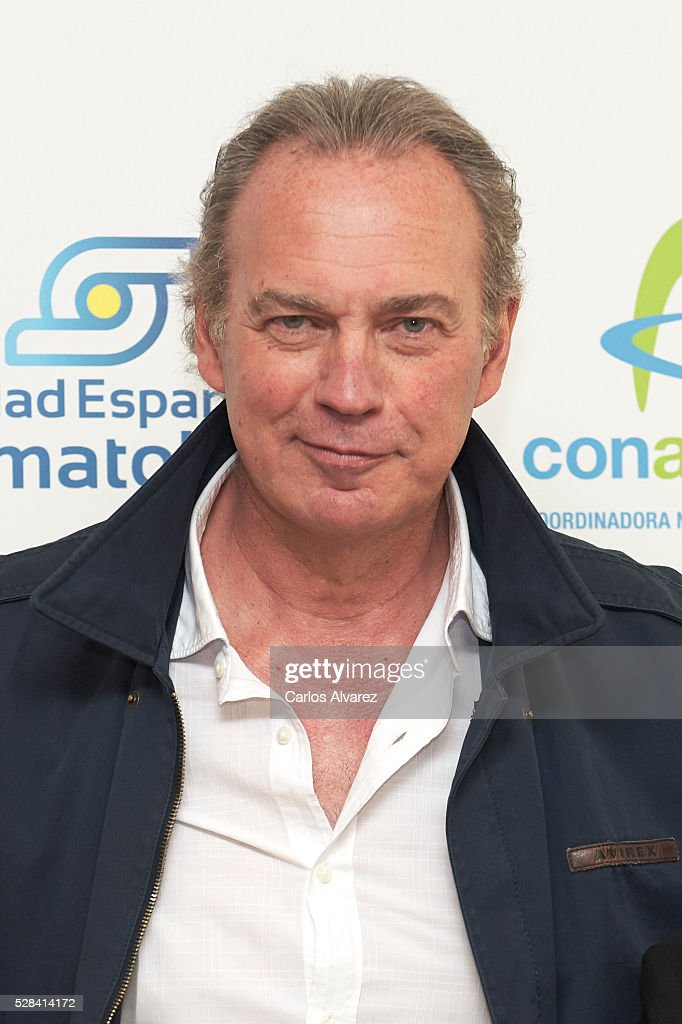 Spanish singer Bertin Osborne presents 'Un Paso + En La Gota' campaign at Las Letras Hotel on May 05, 2016 in Madrid, .