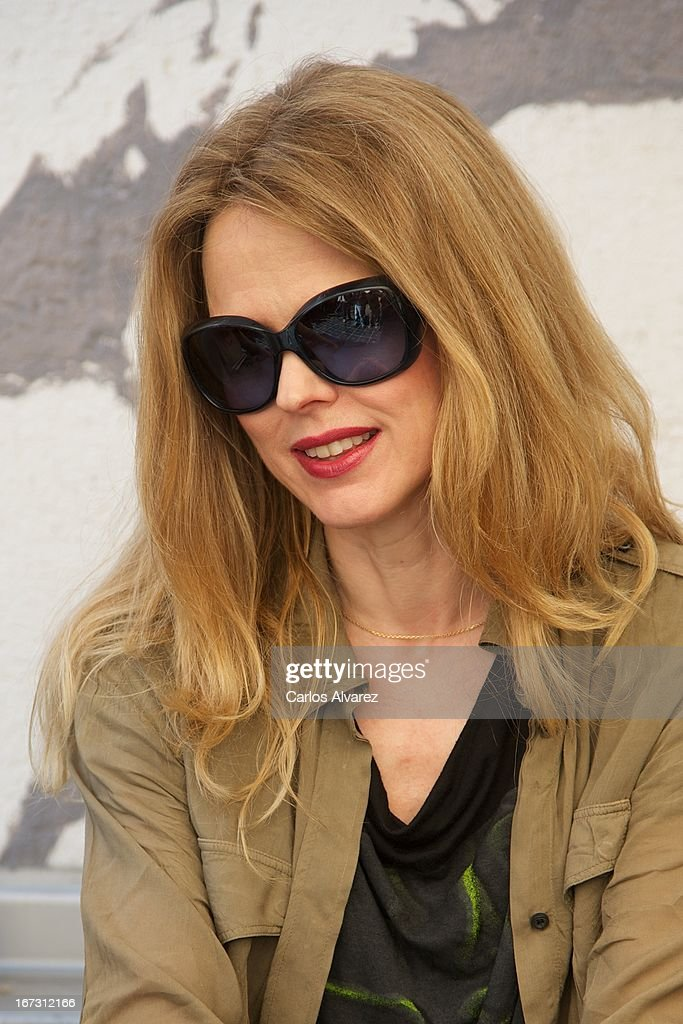 Spanish singer <a gi-track='captionPersonalityLinkClicked' href=/galleries/search?phrase=Christina+Rosenvinge&family=editorial&specificpeople=6064189 ng-click='$event.stopPropagation()'>Christina Rosenvinge</a> presents 'Aperol Spritz Sound Agenda' at San Anton market on April 24, 2013 in Madrid, Spain.
