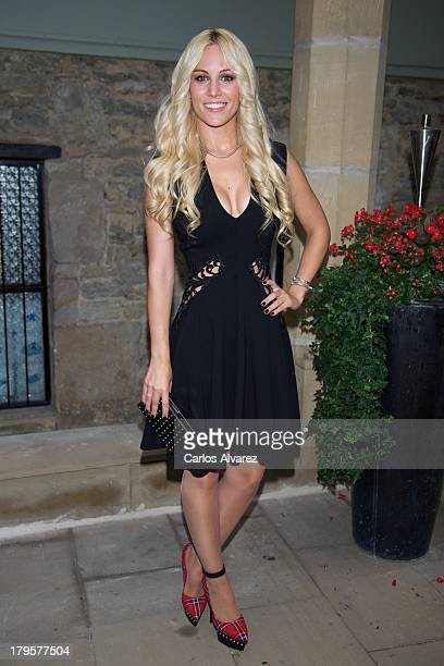 Spanish singer Edurne attends the 'Tu Cara Me Suena' new season presentation during the day four of 5th FesTVal Television Festival 2013 at the Villa...