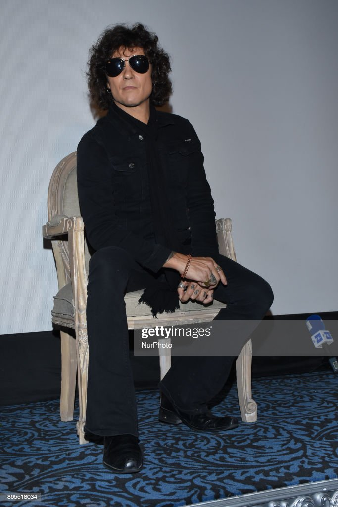 Spanish singer Enrique Bunbury 'Expectativas' album launch