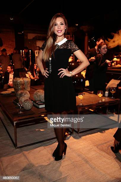 Spanish singer 'Gisela' Gisela Llado attends the presentation of the new 'Carrera y Carrera' jewelry collection at Espacio Azul Tierra on December 18...