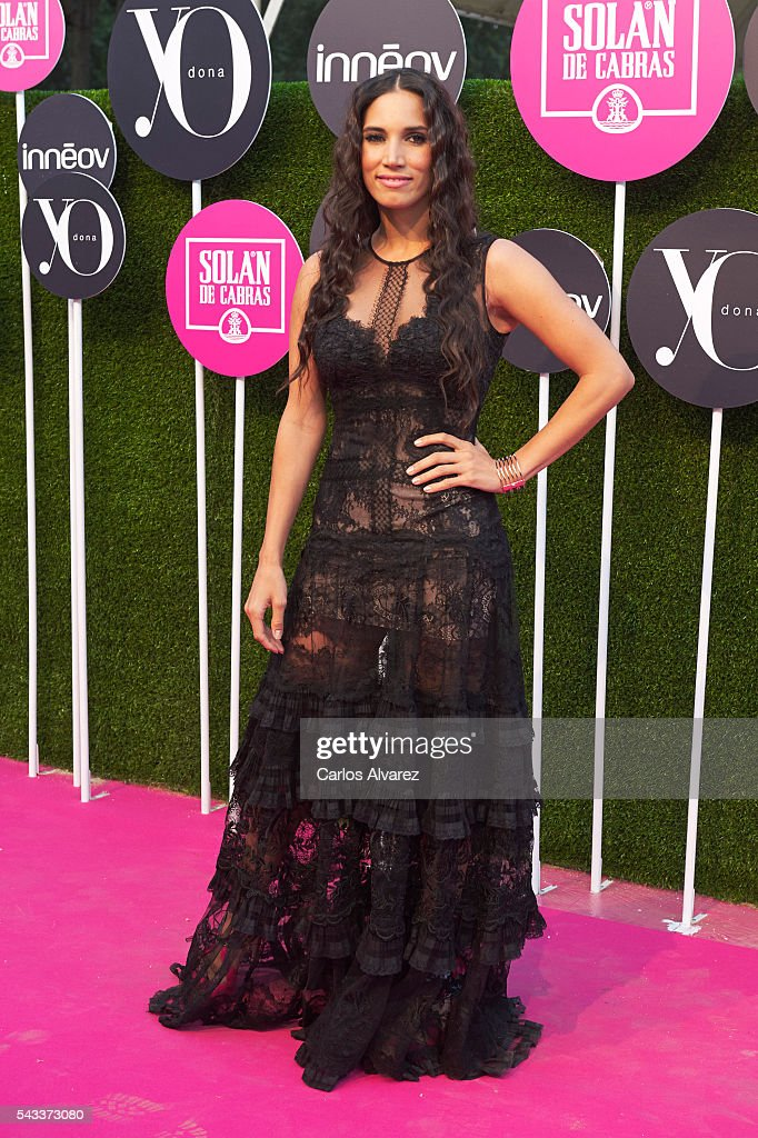 Spanish singer India Martinez attends 'Yo Dona' International awards on June 27, 2016 in Madrid, Spain.