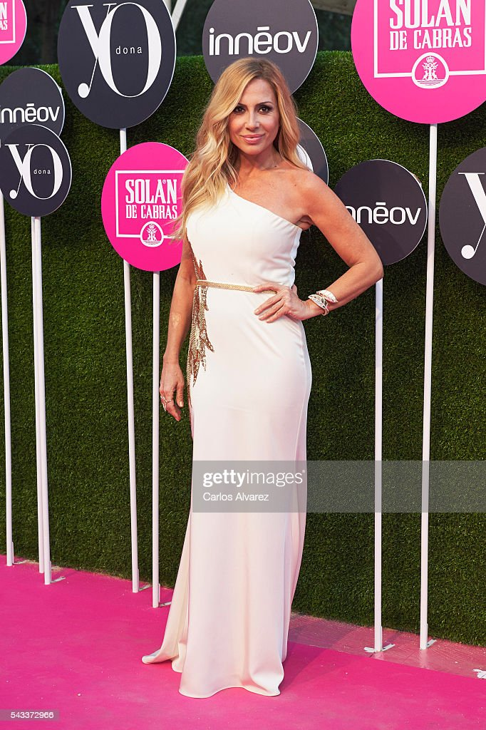 Spanish singer <a gi-track='captionPersonalityLinkClicked' href=/galleries/search?phrase=Marta+Sanchez&family=editorial&specificpeople=3383461 ng-click='$event.stopPropagation()'>Marta Sanchez</a> attends 'Yo Dona' International awards on June 27, 2016 in Madrid, Spain.