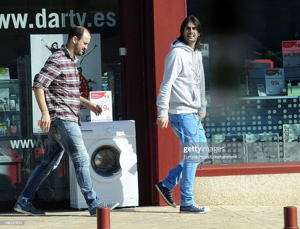 Spanish singer Melendi is seen on November 14 2012 in Madrid Spain