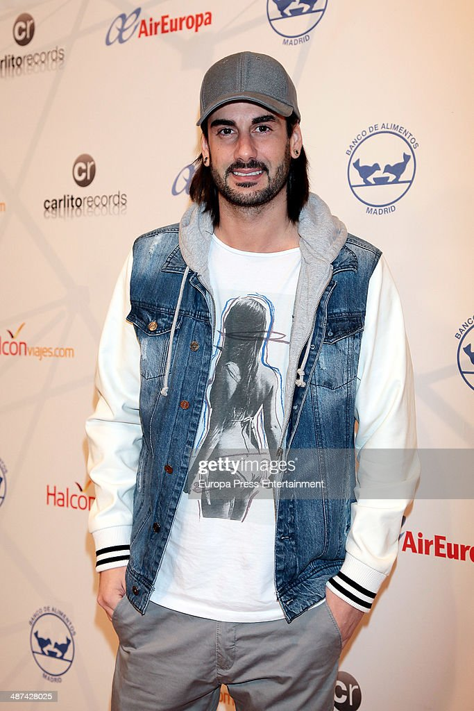 Spanish singer Melendi presents his Spanish tour to commemorate his 10th aniversary as singer on April 29 2014 in Madrid Spain