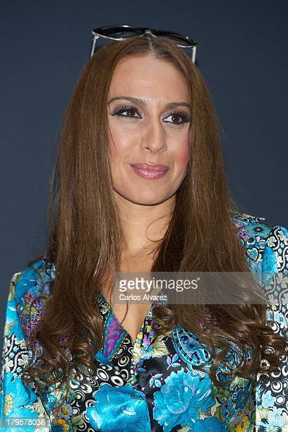 Spanish singer Monica Naranjo attends the 'Tu Cara Me Suena' new season presentation during the day four of 5th FesTVal Television Festival 2013 at...