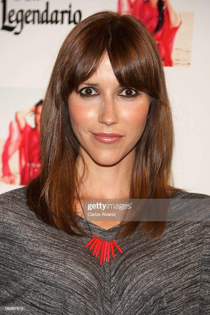 Spanish singer Nika attends the presentation of new album 'Feat Wildboyz' at the MOMA Club on September 18, 2013 in Madrid, Spain.