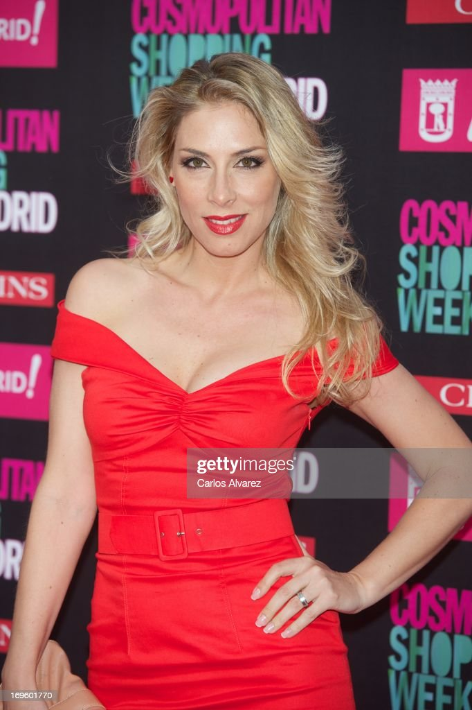 Spanish singer Roser attends the 'Cosmopolitan Shopping Week' party at the Plaza de Callao on May 28, 2013 in Madrid, Spain.