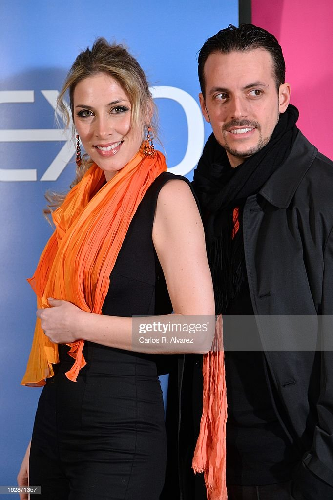 spanish singer Roser (L) attends the presentation of 'Testamento' new book by Pedro Ruiz at the Club the Tiro on February 28, 2013 in Madrid, Spain.