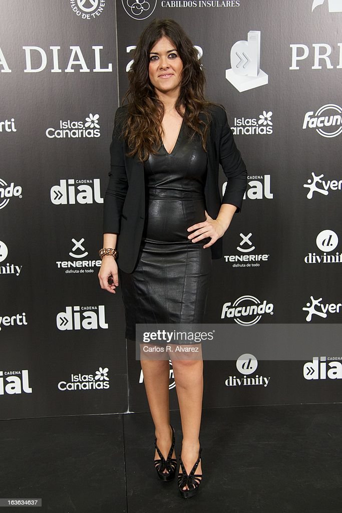 Spanish singer Vanesa Martin attends Cadena Dial awards 2013 press room at the Adan Martin auditorium on March 13, 2013 in Tenerife, Spain.