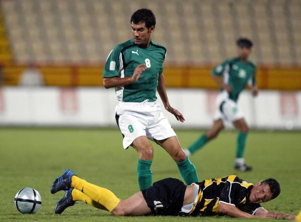 Spanish soccer star Joseph Guardiola (ba : News Photo