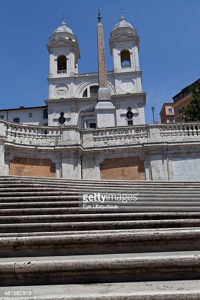 Spanish Steps and the Church of Trinita dei Monti
