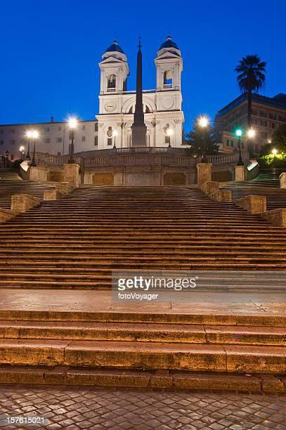 Spanish Steps Scalinata di Spagna landmark piazza Rome Italy Europe