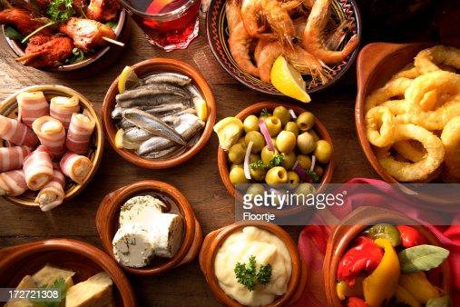 Spanish Stills: Tapas - Variety