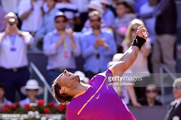 TENNIS-ATP-MADRID-OPEN : News Photo