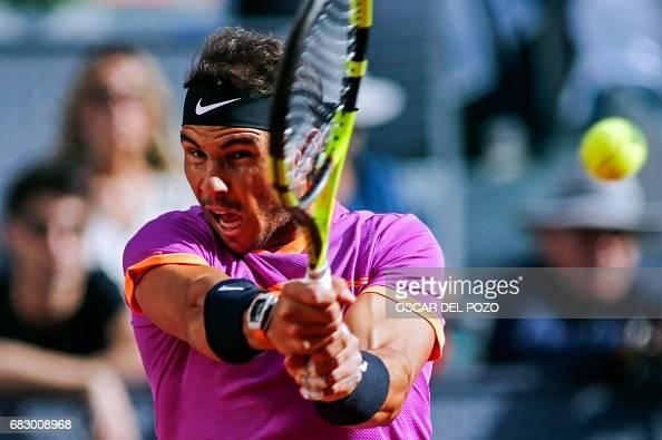 TENNIS-ATP-MADRID-OPEN-FINAL : Photo d'actualité