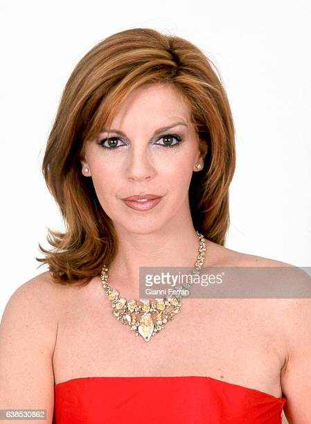 Spanish TV presenter Belinda Washington Madrid Spain