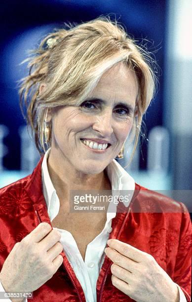 Spanish TV presenter Mercedes Mila Madrid Spain