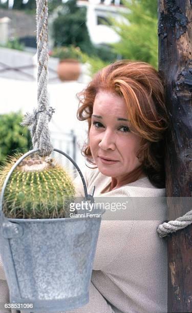 Spanish TV presenter Mila Ximenez Madrid Spain