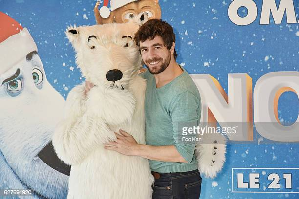 Spanish TV serial 'Clem' actor Agustin Galiana attends 'Norm' Paris Premiere at Mk2 Bibliotheque on December 4 2016 in Paris France