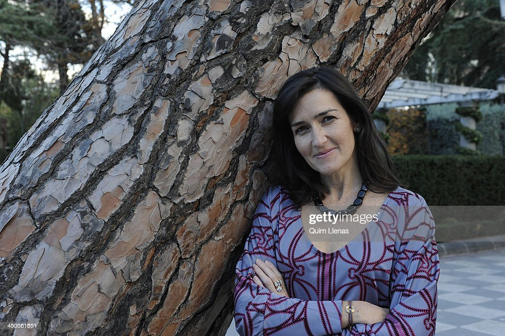 Spanish writer Angeles Gonzalez Sinde poses for a portrait session at the Retiro Park on November 5 2013 in Madrid Spain